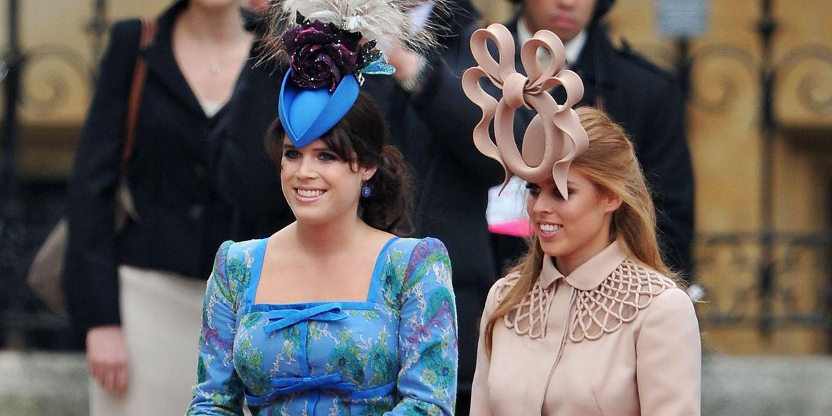 أكثريتها غريبة.. قبعات ارتدتها نساء العائلة الملكية في حفلات الزفاف