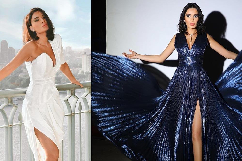 إستوحي إطلالتك من أزياء سيرين عبد النور اللافتة والمتنوعة