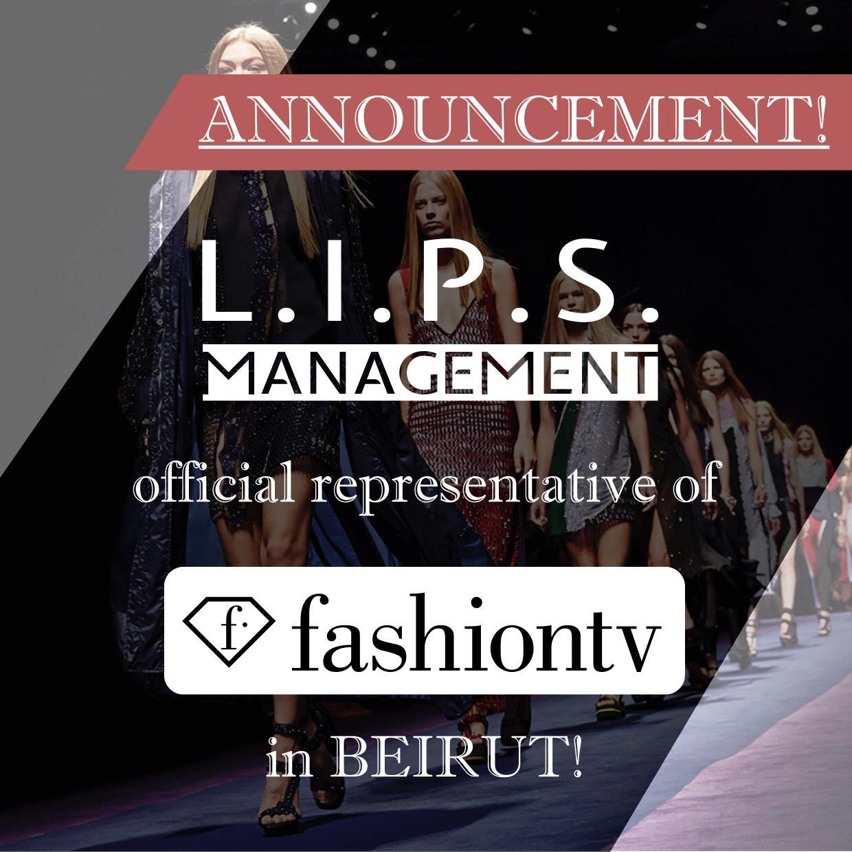 شركة l.i.p.s. management الممثل الحصري لقناة fashion tv international في لبنان
