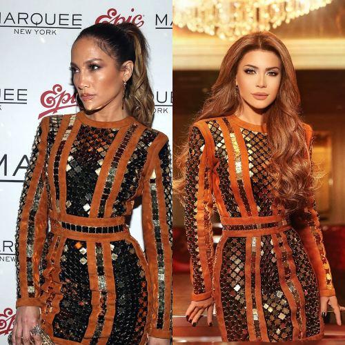نجمات إرتدين الفساتين نفسها.. من نجحت إطلالتها أكثر؟