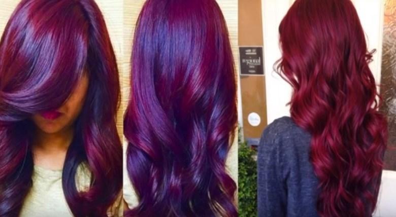 كيفية الحصول على لون شعر احمر باذنجاني بطريقتين