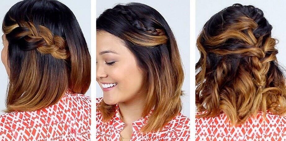 أجمل تسريحات شعر قصيرة بالصور