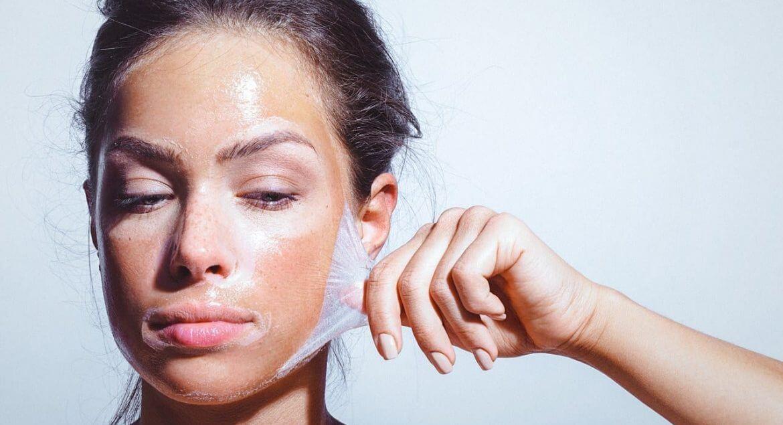ما هي اسرع طريقة لتقشير الوجه (1)