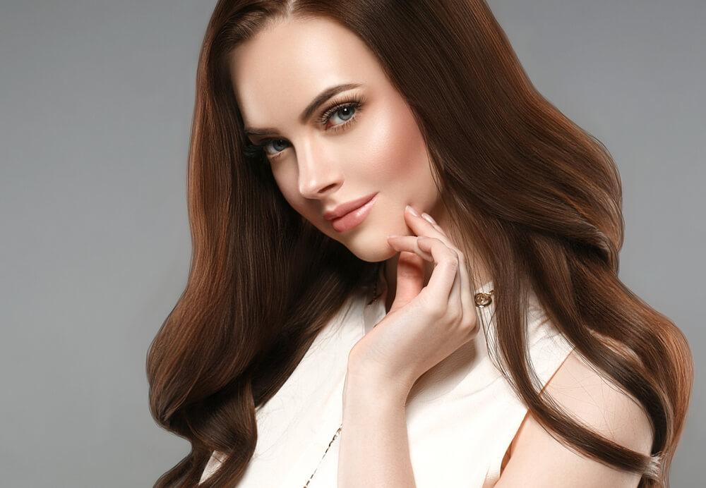 طريقة صبغة الشعر بالقهوة (1)