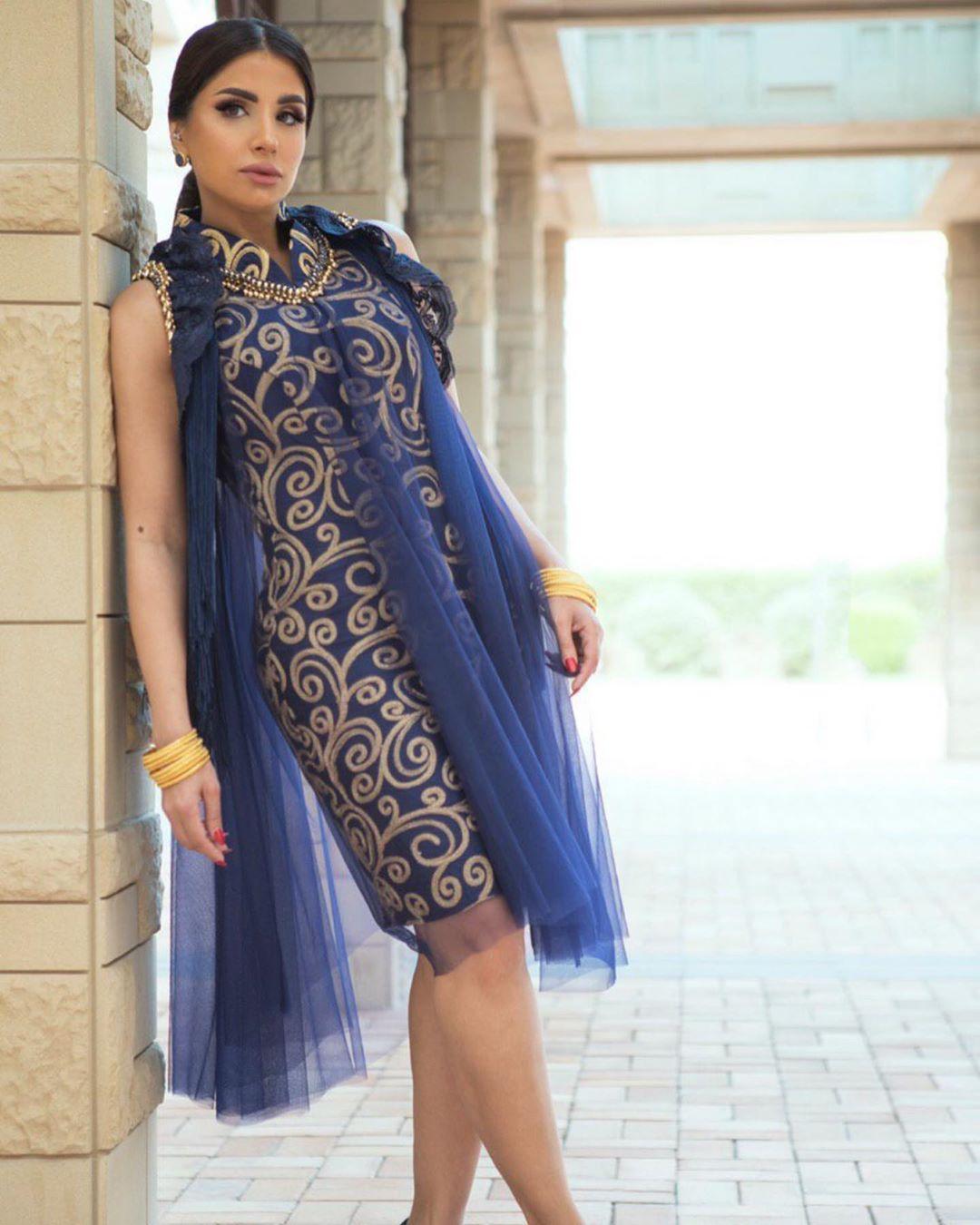 إليك المزيد من تصاميم رمضان للمصممة عاليه السهيم