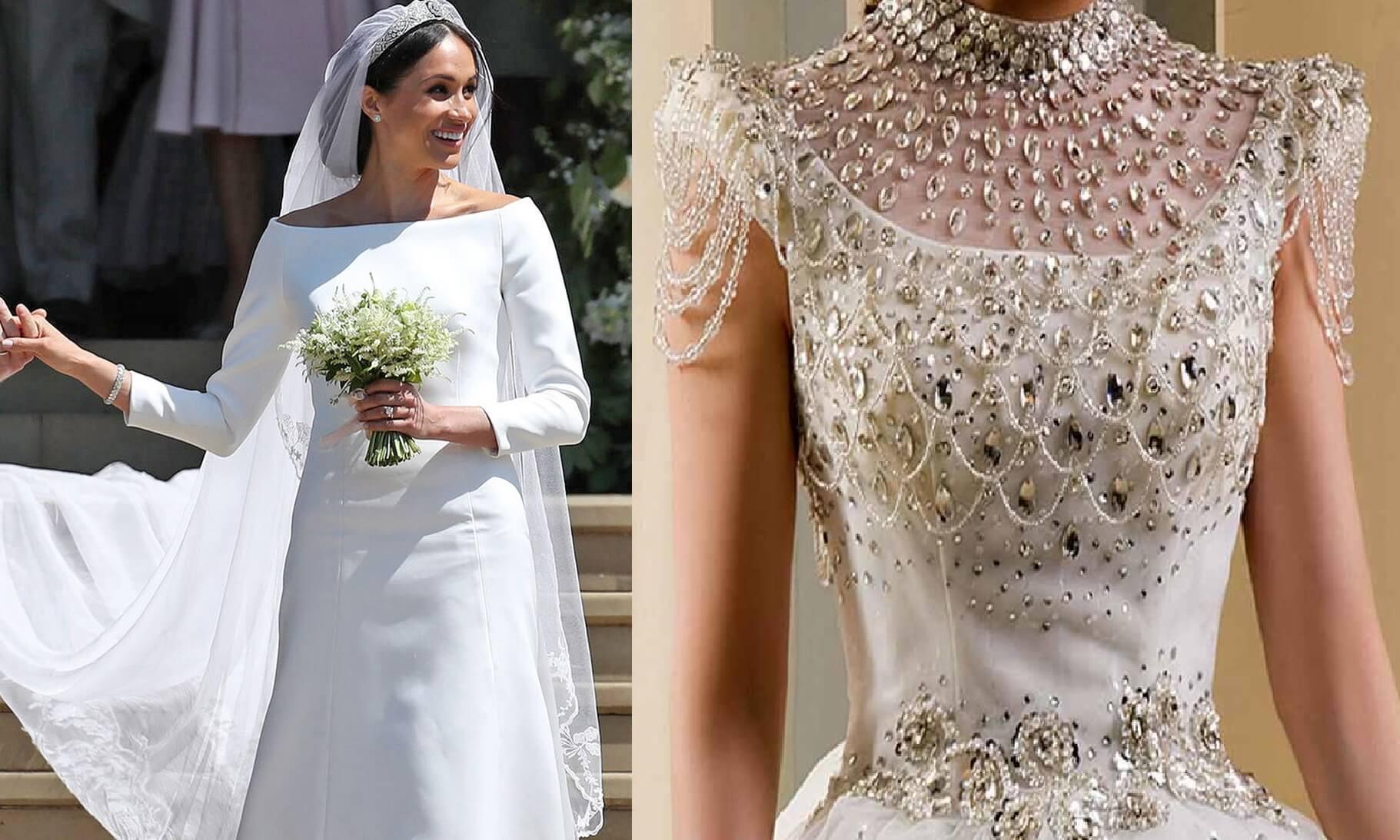 مرصّعة بالذهب والألماس! إليكِ أغلى فساتين الزفاف حول العالم