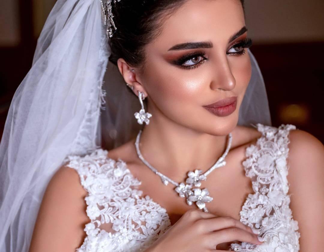اجمل صور مكياج عروس خليجي فخم