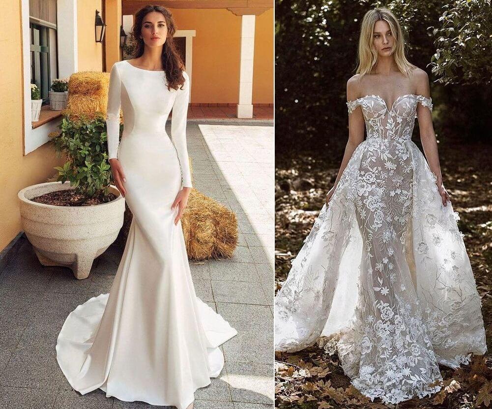 فساتين زفاف 2021 تحاكي ذوق كل عروس