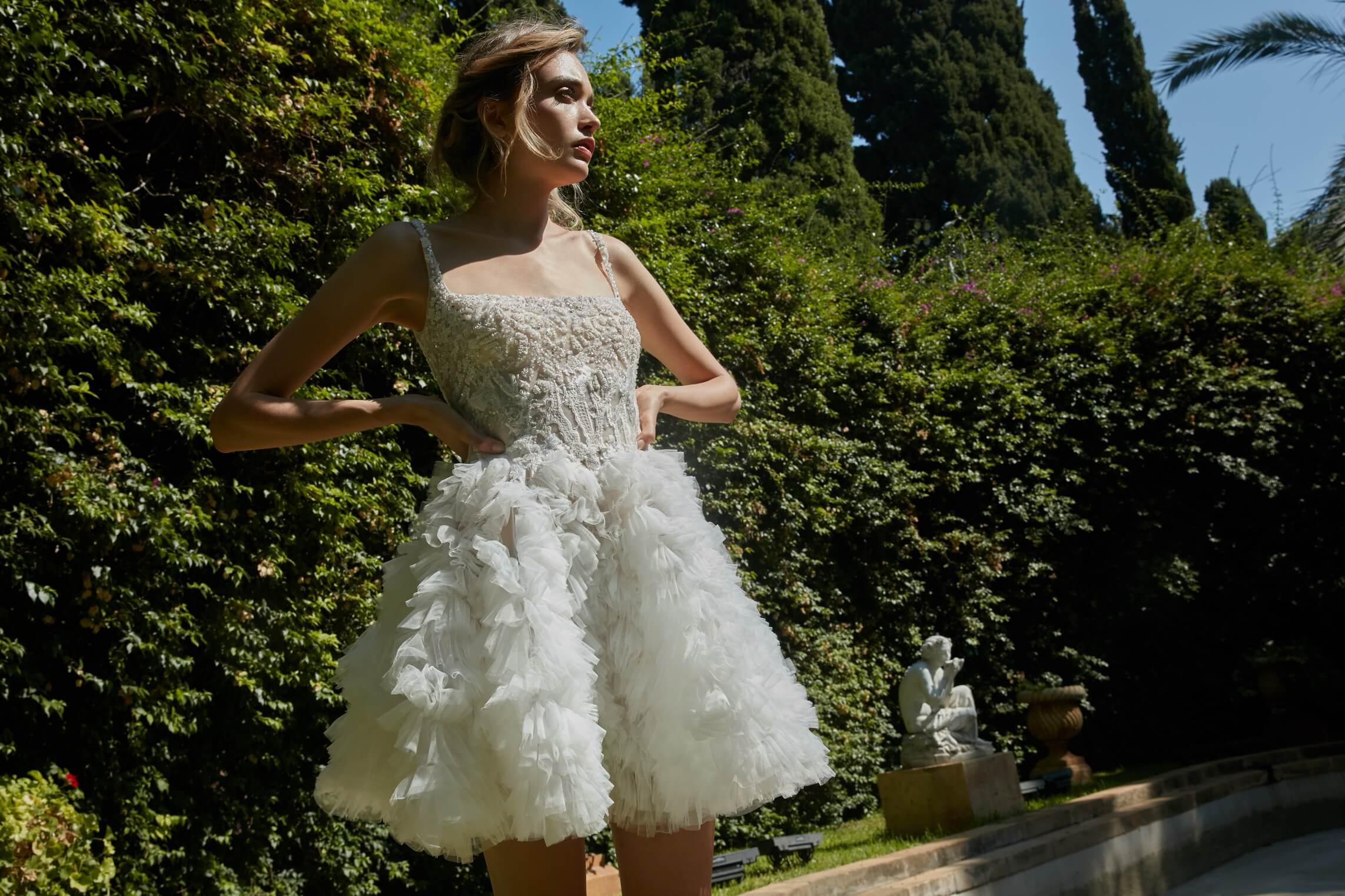 مجموعة  la mariée  للمصمم طوني ورد تنبض أنوثة لخريف 2020 2