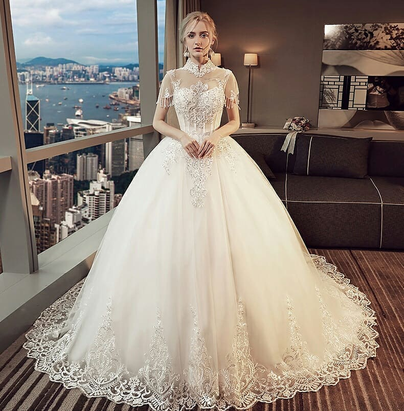 إليك من انستقرام اجمل صور فساتين زفاف 2020