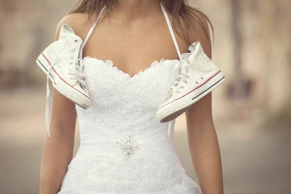 الأحذية المسطّحة للعروس العصرية… لا للكعب العالي!