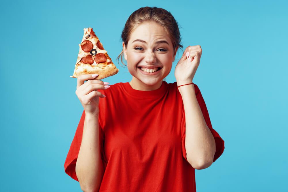 خبر سار البيتزا صحيّة