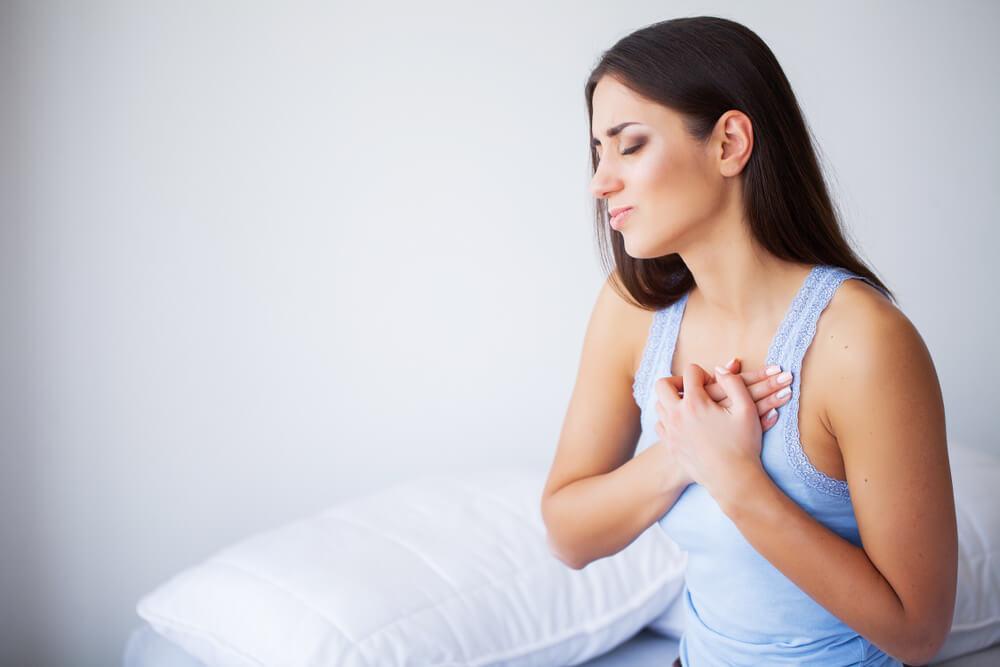 متى يبدا الم الثدي في الحمل ومتى ينتهي (1)