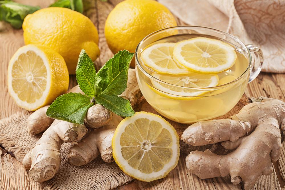 فوائد الزنجبيل والليمون قبل النوم للتنحيف