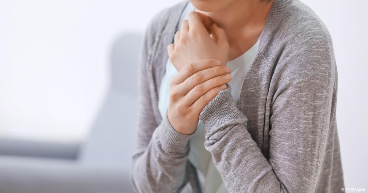 هل القلق يسبب ألم في اليد اليسرى؟