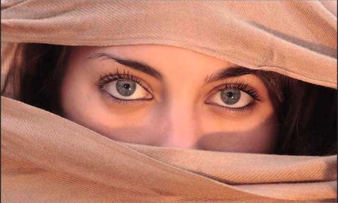 تأثير العيون الجميلة على الرجل