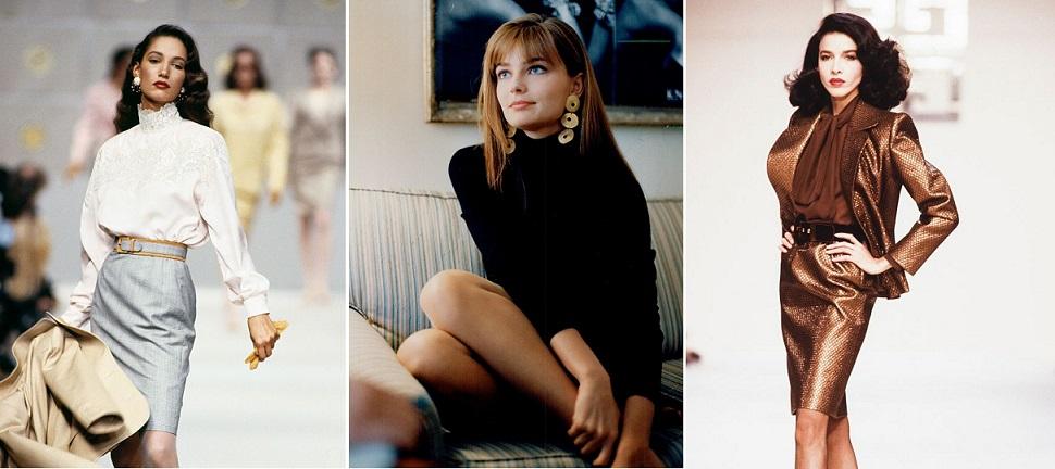 عارضات الثمانينات بصمة ذهبية في عالم الأزياء