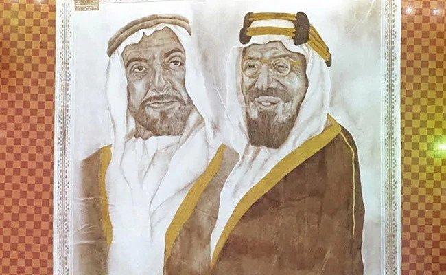 سعودية تسجل رقماً قياسياً في غينيس عن أكبر لوحة للقهوة في العالم