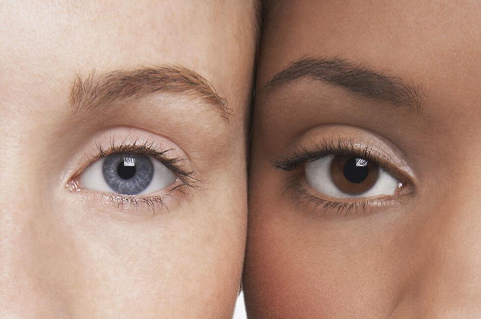ها هو سبب إختلاف لون العيون والألوان الأكثر شيوعاً حول العالم