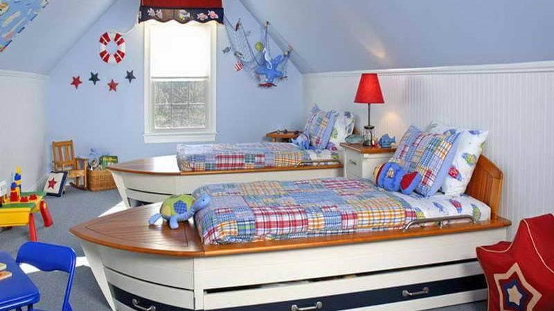 صور ديكورات غرف اطفال جديدة