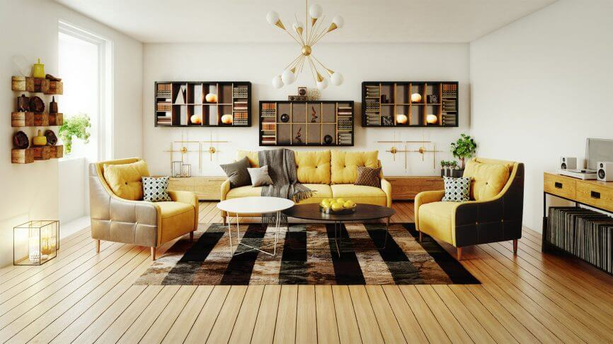 صور ديكور غرفة جلوس بأساليب جديدة