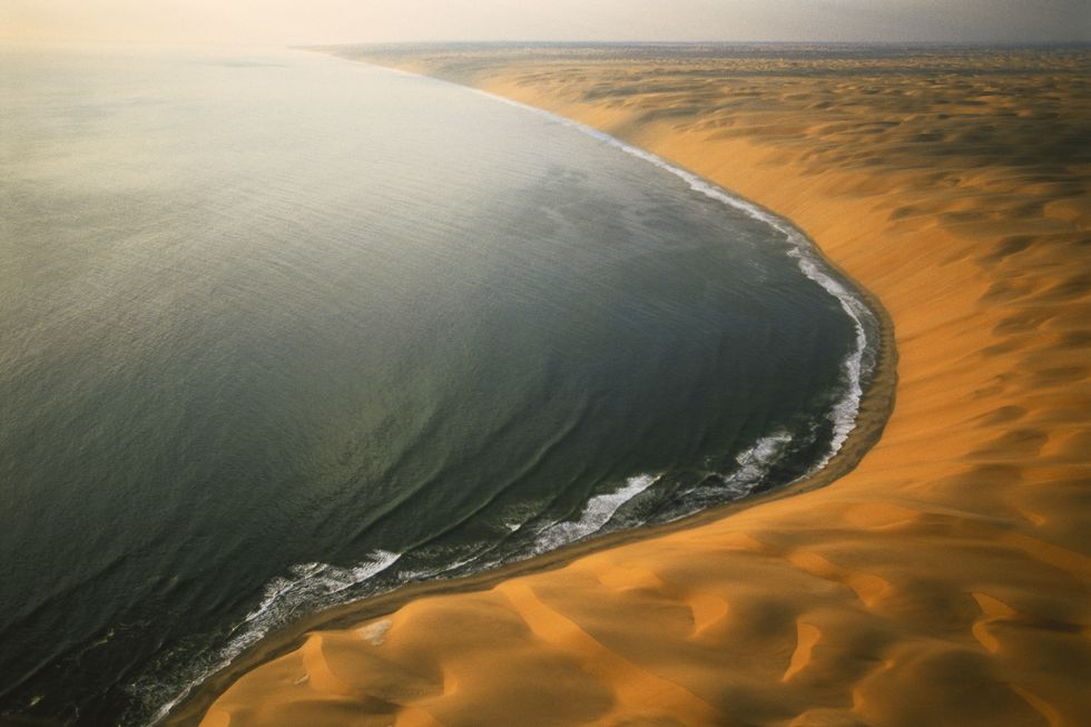 NATIONAL PARK, SKELETON COAST في ناميبيا