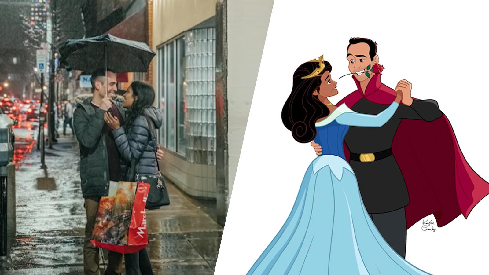 عرض الزواج المستوحى من قصة الأميرة النائمة ستجعلكِ تؤمنين بالحب مرة أخرى1111!
