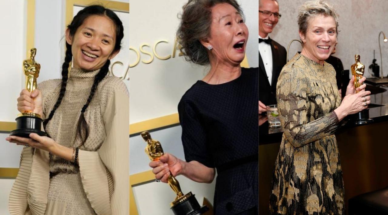 ثلاث نساء صنعن التاريخ في حفل توزيع جوائز الأوسكار 2021