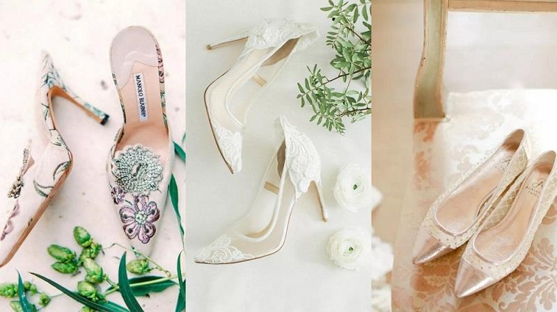 صور أحذية زفاف غير مألوفة وعلى الموضة