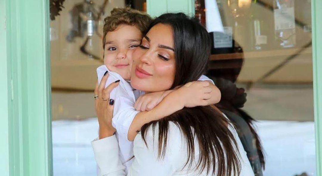 بالفيديو | نادين نسيب نجيم تحتفل بعيد ميلاد ابنها بكلمات مؤثرة