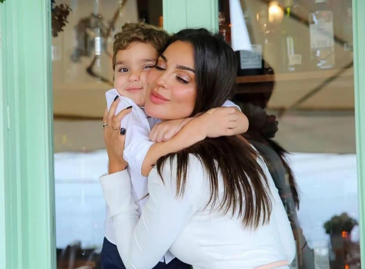 نادين نسيب نجيم تحتفل بعيد ميلاد ابنها بكلمات من القلب
