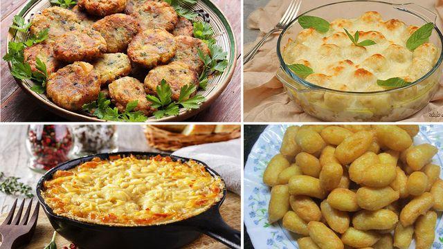 طبخات سهلة بالبطاطس شهية