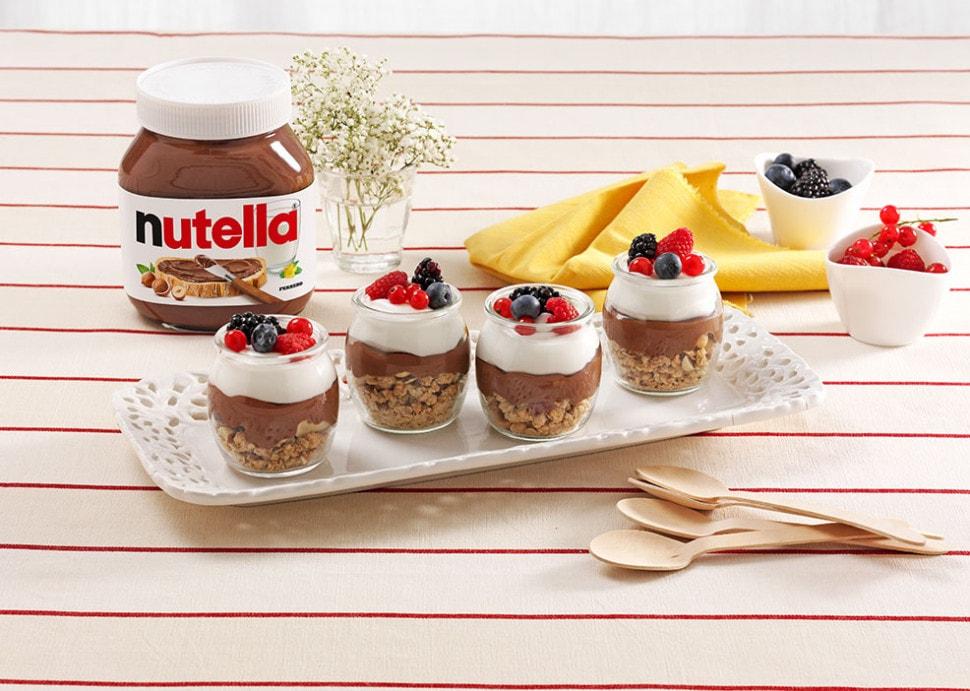 وصفات شهية لعمل حلويات بالنوتيلا