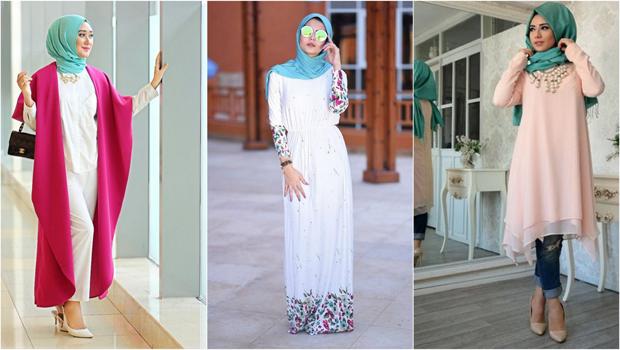 طريقة تنسيق الملابس للمحجبات