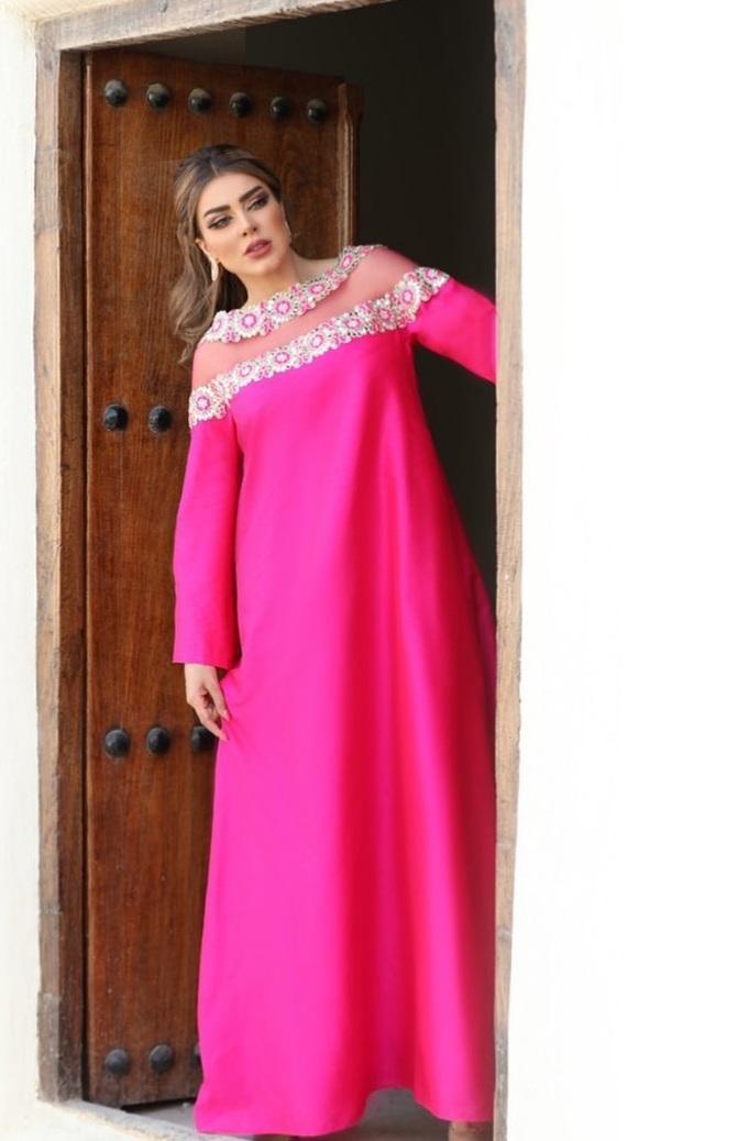 اجمل ملابس رمضان من عبايات وفساتين للمصممة عاليه السهيم