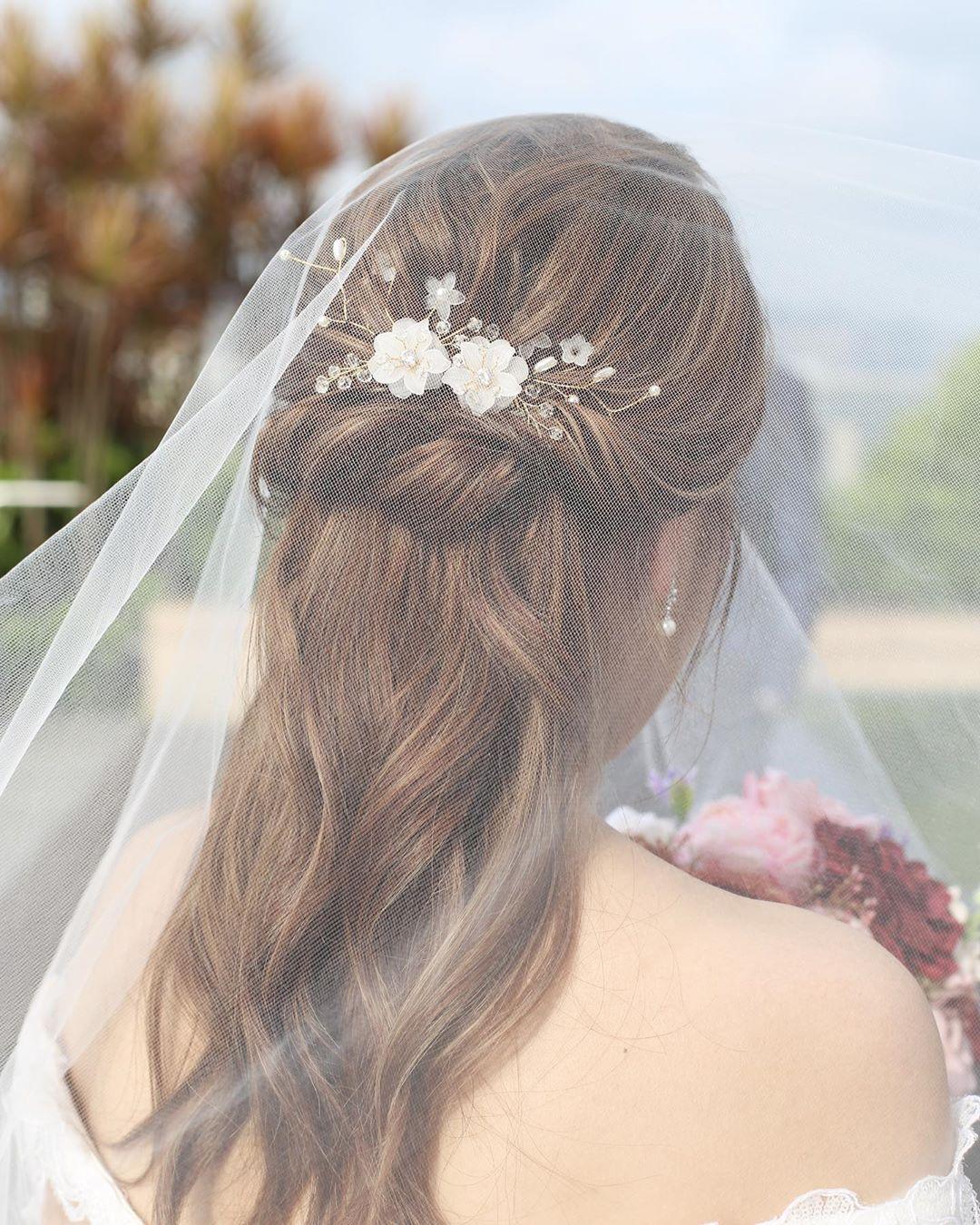 اجمل موديلات تساريح عروس لهذا الصيف