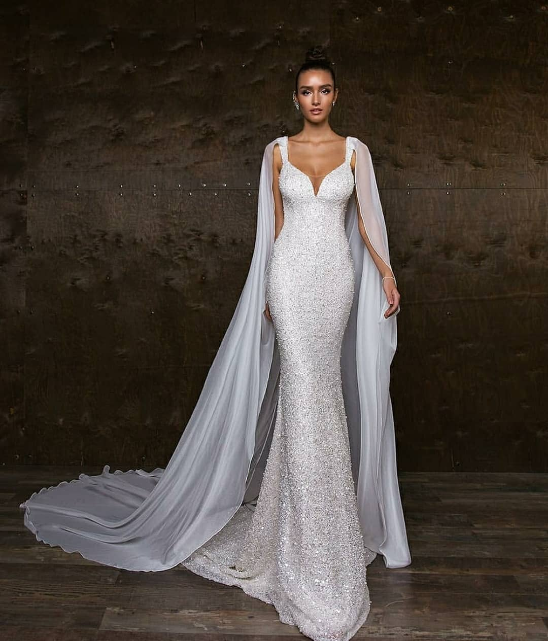 فساتين زفاف جميلة وعصرية لعروس 2019