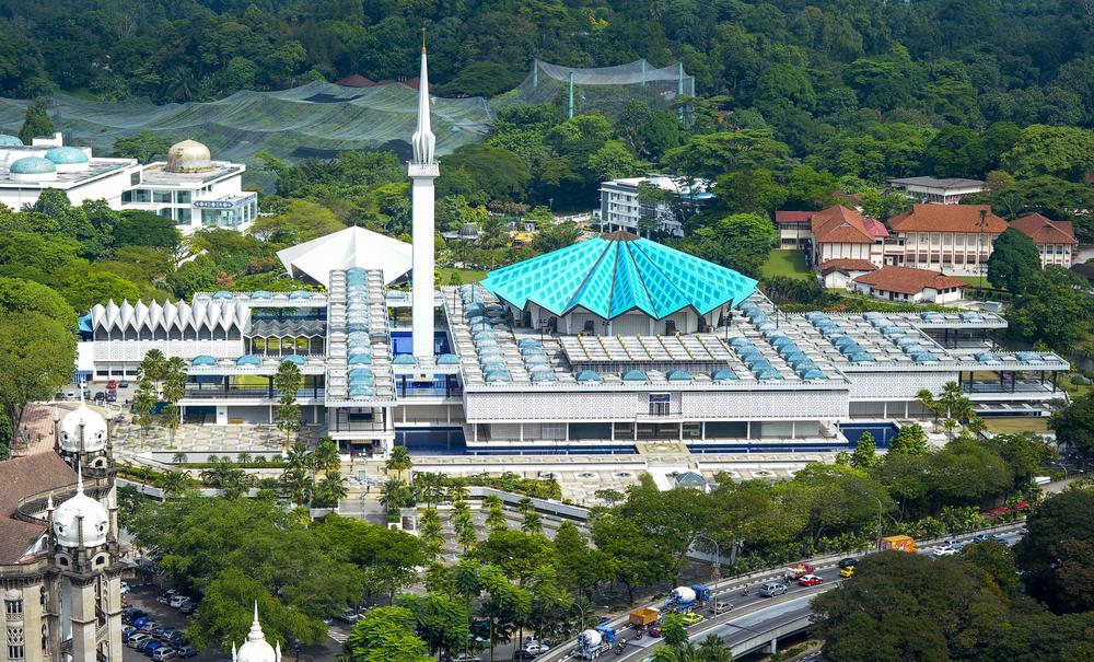 المسجد الوطني كوالالمبور 1