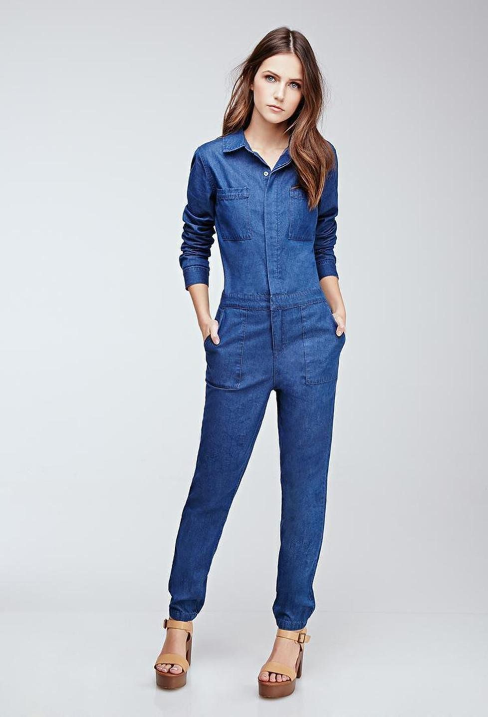 نصائح لارتداء افرول جينز بطرق عصرية