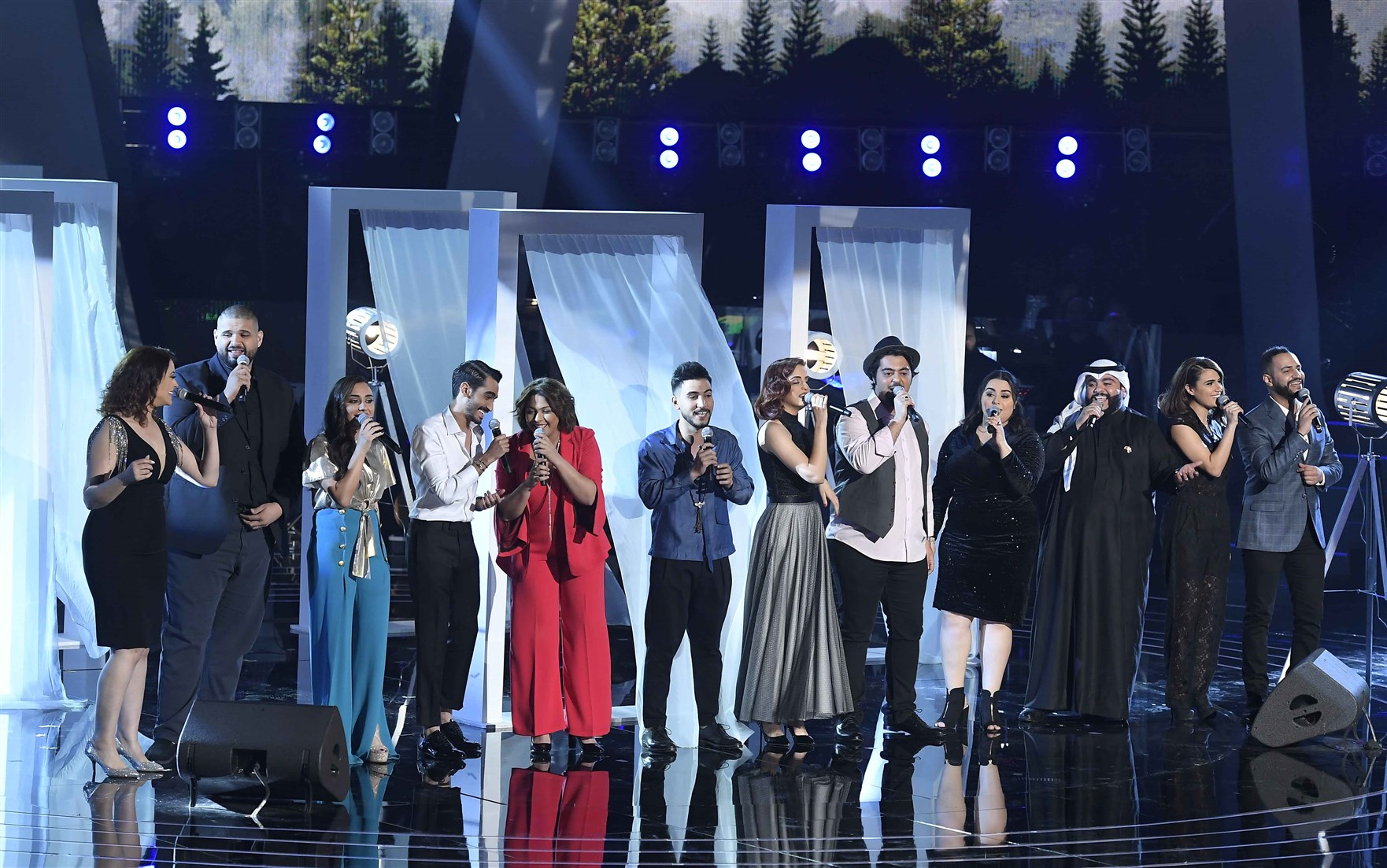ذا فويس: 8 مشتركين لحلقة نصف النهائيات