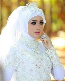 اليك اجمل الاكسسوارات التي تناسب حجابك في الزفاف