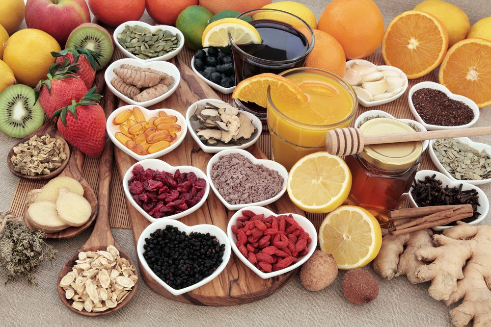 what foods stimulate and strengthen the immune system