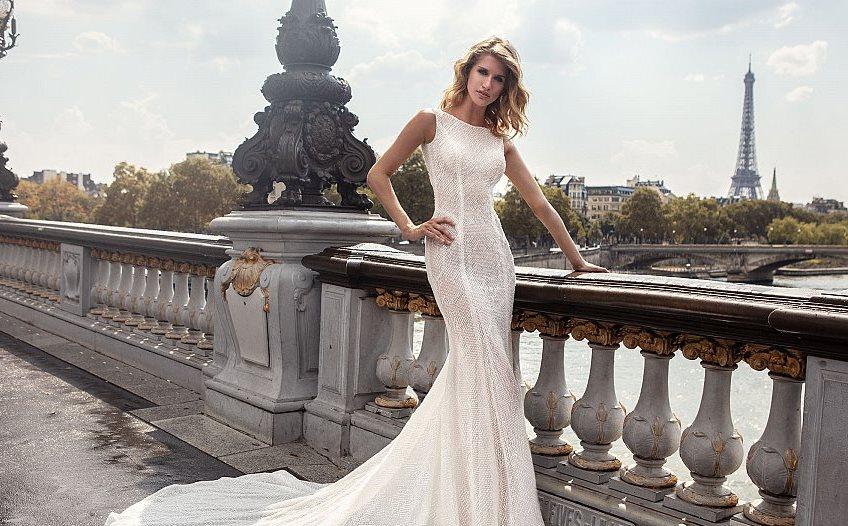 d3317dc76 اخترت لك أجمل موديلات فساتين اعراس لصيف 2019
