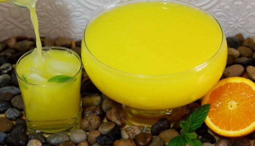 وصفات عصير المنعش السريع